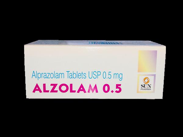 alprazolam 0.5mg (xanax)