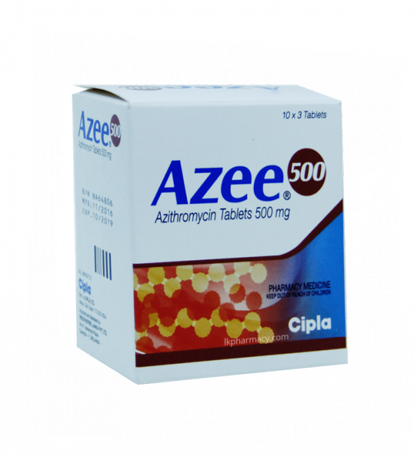 azee azithromycin 500mg lkpharmacy